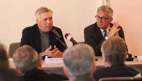 Ancelotti sale in cattedra all´Università