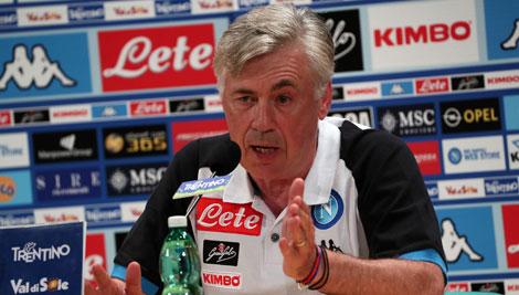 """Ancelotti: """"Il Napoli ha creduto in me"""""""