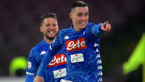 Il Napoli spreca tanto ma vince