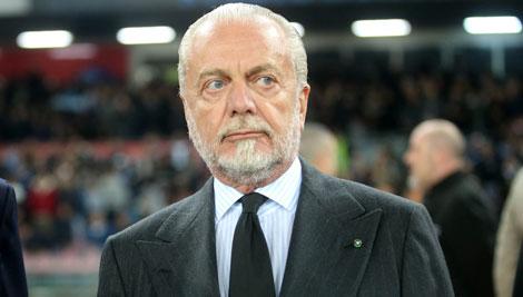 """De Laurentiis: """"Serie A a 16 squadre"""""""