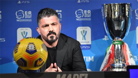 """Gattuso: """"Massimo rispetto per la Juve"""""""