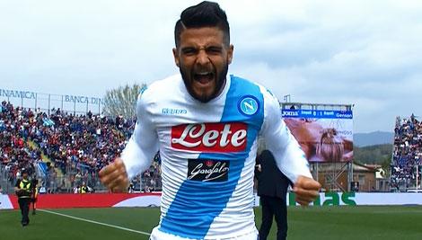 Il Napoli sfata il tabù Empoli