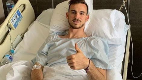 Fabian Ruiz finisce in ospedale