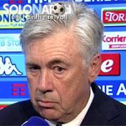 """Ancelotti:""""Napoli guarito? In realtà mai malato..."""""""
