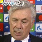 """Ancelotti: """"Un pareggio che ci lascia amarezza"""""""