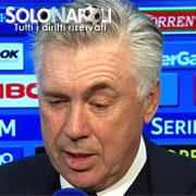 "Ancelotti: ""Battuta una buona Udinese"""