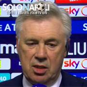 """Ancelotti: """"Una sconfitta che non mi brucia"""""""