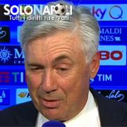 """Ancelotti: """"Una vittoria meritata, senza subire gol"""""""