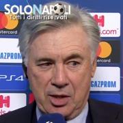 """Ancelotti: """"Abbiamo meritato la qualificazione"""""""