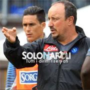 Anche Benitez si complimenta con Callejon
