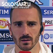 """Bonucci: """"Secondo gol preso nel nostro momento migliore"""""""