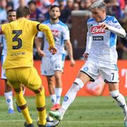 Il Napoli ne prende quattro dal Barça