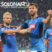Il Napoli batte the Champions!