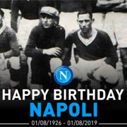 Buon Compleanno! Il Napoli compie 93 anni