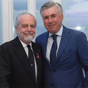 "De Laurentiis: ""Grazie ad Ancelotti"""