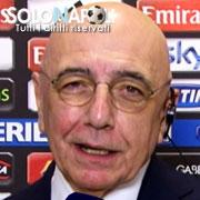 """Galliani: """"Scudetto? Sarà duello tra Juve e Napoli"""""""