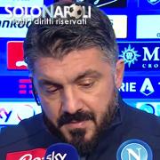 """Gattuso: """"Dobbiamo lavorare sulla testa"""""""