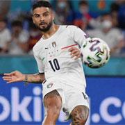 Europei: Insigne in gol al debutto