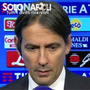 """Inzaghi: """"Il Napoli ha meritato la vittoria"""""""