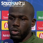 "Koulibaly: ""Una vittoria per i tifosi"""