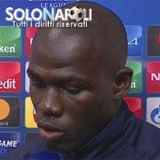 """Koulibaly: """"Dispiaciuti per il risultato negativo"""""""