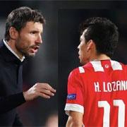 "Van Bommel: ""Lozano? Non so se gioca"""