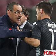 Maggio sconfessa Sarri