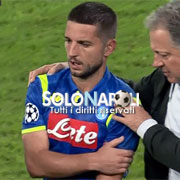 Distorsione alla spalla per Dries Mertens