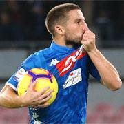 """Mertens: """"A Napoli sto bene, mi piace viverci"""""""