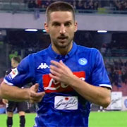 Mertens esulta come Careca e poi lo supera