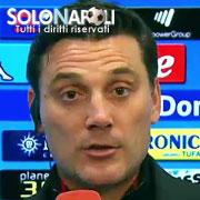 """Montella: """"Il Milan meritava qualcosa in più"""""""