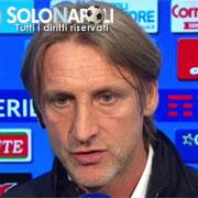 """Nicola: """"Buona gara contro un Napoli forte"""""""
