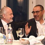 """De Laurentiis: """"Sarri è stato maleducato"""""""