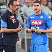 Affare fatto! Jorginho e Sarri al Chelsea