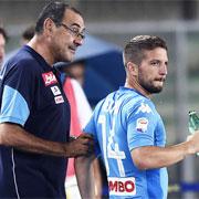 """Mertens: """"Sarri ha cambiato il Napoli"""""""