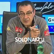 """Sarri: """"Con il Sassuolo ci giochiamo tanto"""""""