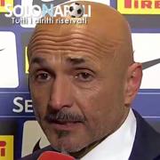 """Spalletti: """"Il Napoli ha fatto meglio di noi"""""""