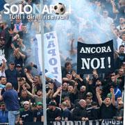 In 50mila per Napoli-Crotone